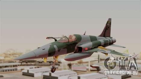 Northrop F-5E Tiger II Texture FAB для GTA San Andreas