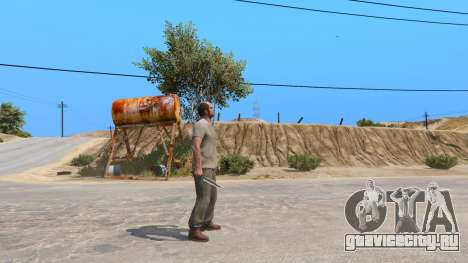 Нож Рэмбо для GTA 5 второй скриншот