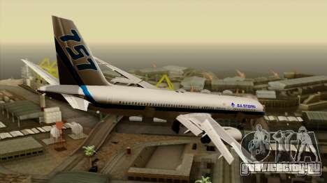 Boeing 757-200 Eastern Air Lines для GTA San Andreas вид слева
