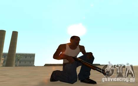 Nitro Weapon Pack для GTA San Andreas шестой скриншот