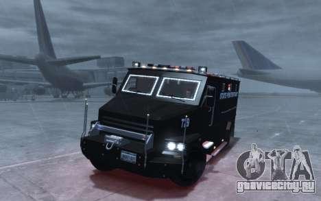 International 4000-Series SWAT Van для GTA 4 вид сзади
