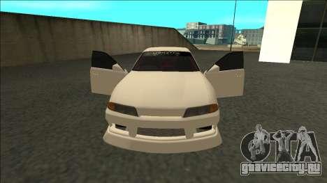 Nissan Skyline R32 Sedan Monster Energy Drift для GTA San Andreas вид справа