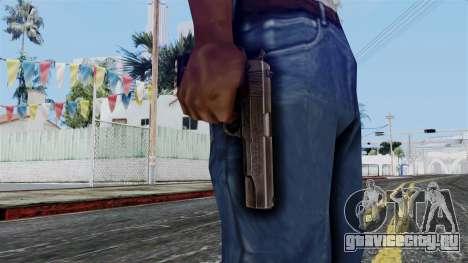 Colt M1911 from Battlefield 1942 для GTA San Andreas третий скриншот