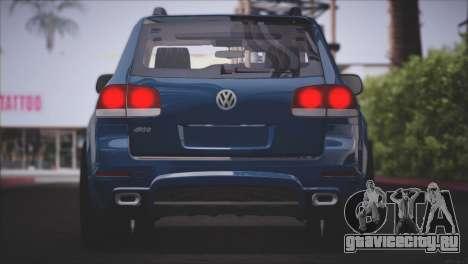 Volkswagen Touareg R50 2008 для GTA San Andreas вид снизу