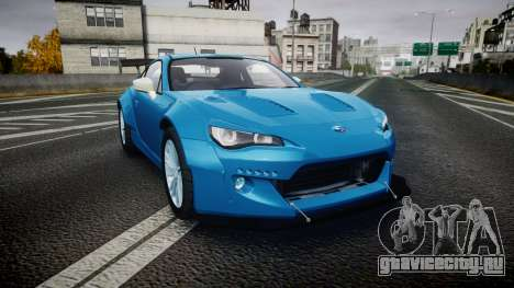 Subaru BRZ Rocket Bunny для GTA 4