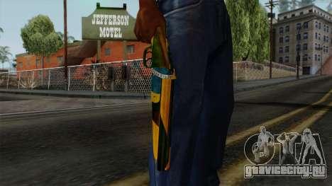 Brasileiro Sawnoff Shotgun v2 для GTA San Andreas третий скриншот