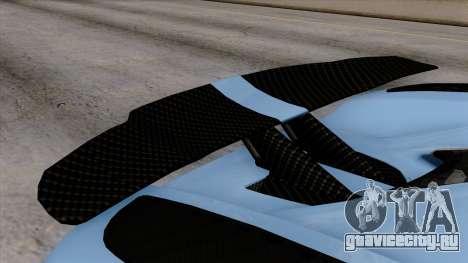 Koenigsegg Agera R 2014 Carbon Wheels для GTA San Andreas вид справа
