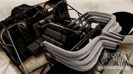 Camo Flip Car для GTA San Andreas вид сзади