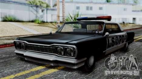 Police Savanna 2.0 для GTA San Andreas