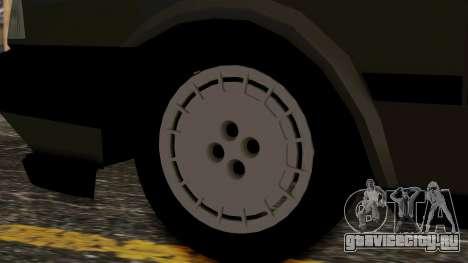 Tofas Dogan для GTA San Andreas вид сзади слева