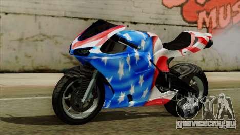 Bati America Motorcycle для GTA San Andreas