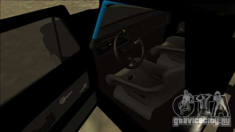 Chevrolet C10 Drift Monster Energy для GTA San Andreas вид справа
