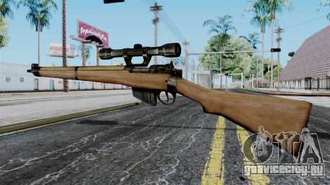 Lee-Enfield No.4 Scope from Battlefield 1942 для GTA San Andreas второй скриншот