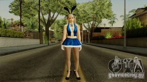 Dead Or Alive 5 Rose Marie Bunny для GTA San Andreas