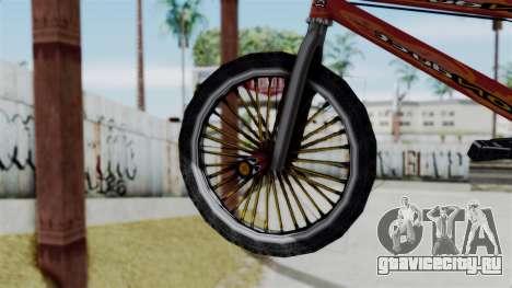 Bike from Bully для GTA San Andreas вид сзади слева