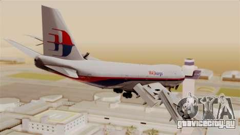 Boeing 747 MasKargo для GTA San Andreas вид слева