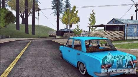 Ваз 2101 Resto для GTA San Andreas вид справа