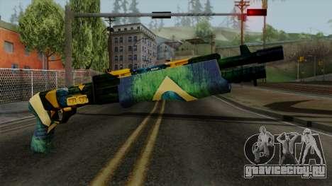 Brasileiro Combat Shotgun v2 для GTA San Andreas
