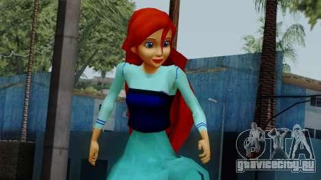 Ariel (Human Version) для GTA San Andreas