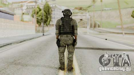 Derek Frost from CoD MW3 для GTA San Andreas третий скриншот