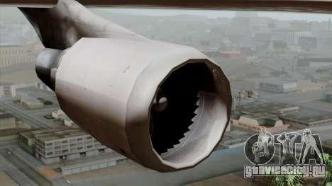 Boeing 747-400 Friendship Tag для GTA San Andreas вид справа