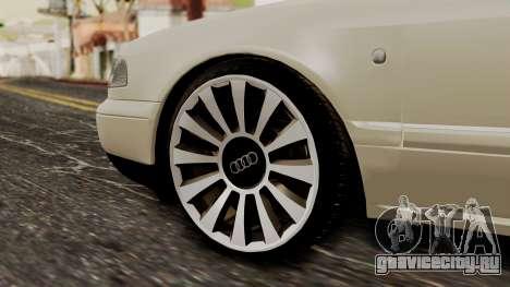 Audi A8 D2 для GTA San Andreas вид сзади слева