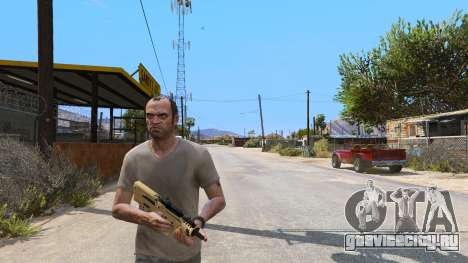 TAR-21 из Battlefield 4 для GTA 5 третий скриншот