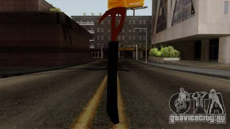 Топор из The Forest для GTA San Andreas второй скриншот