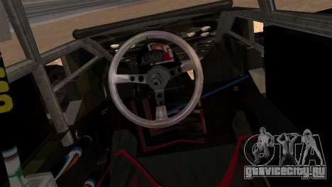 Camo Flip Car для GTA San Andreas вид сзади слева