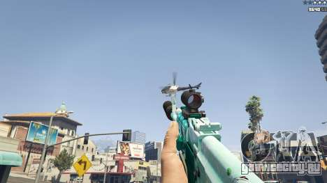 Штурмовая винтовка Аниме для GTA 5 шестой скриншот
