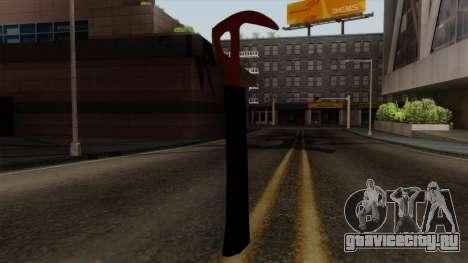 Топор из The Forest для GTA San Andreas третий скриншот