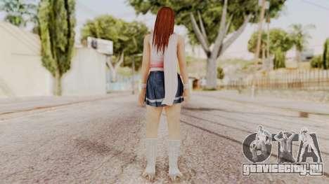 DOA 5 Kasumi Scarfed Frock для GTA San Andreas третий скриншот