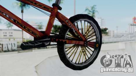 Bike from Bully для GTA San Andreas вид справа