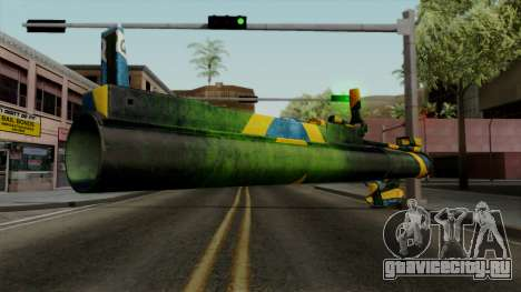 Brasileiro Heatseek v2 для GTA San Andreas третий скриншот