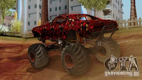 The Batik Big Foot для GTA San Andreas вид слева