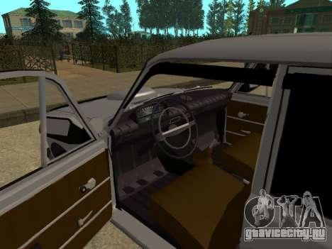 ВАЗ 2102 для GTA San Andreas вид сзади