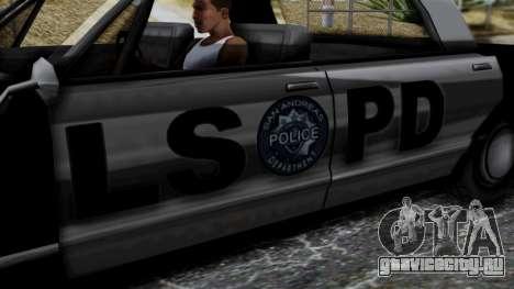Police Savanna 2.0 для GTA San Andreas вид справа