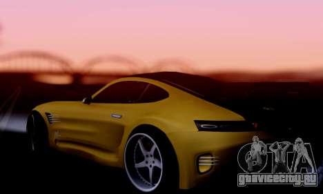 Mercedes-Benz AMG GT для GTA San Andreas вид справа