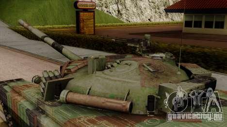 PT-91A Twardy для GTA San Andreas вид справа