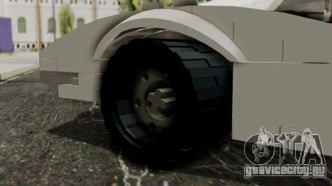 Lego Mach 5 для GTA San Andreas вид сзади слева