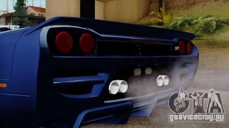 Saleen S7 для GTA San Andreas вид сзади