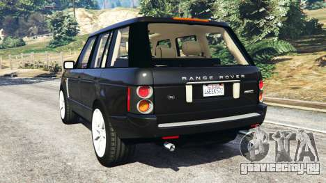 Range Rover Supercharged для GTA 5