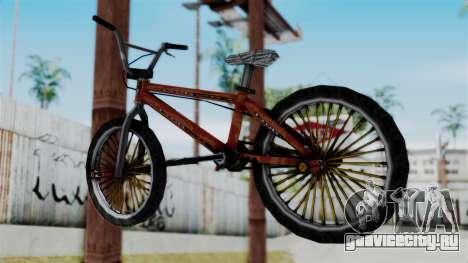 Bike from Bully для GTA San Andreas вид слева