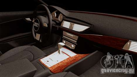 Audi A7 Sportback 2009 для GTA San Andreas вид справа