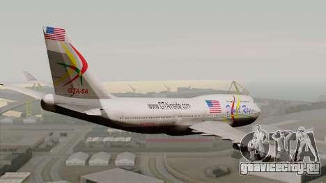 Boeing 747-400 Friendship Tag для GTA San Andreas вид слева
