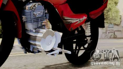 Yamaha YBR Imitacion для GTA San Andreas вид сзади