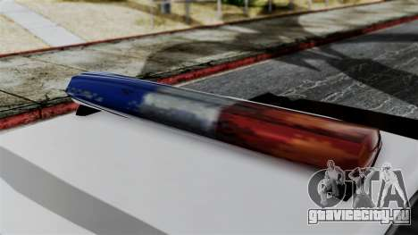 Police Savanna 2.0 для GTA San Andreas вид сзади слева