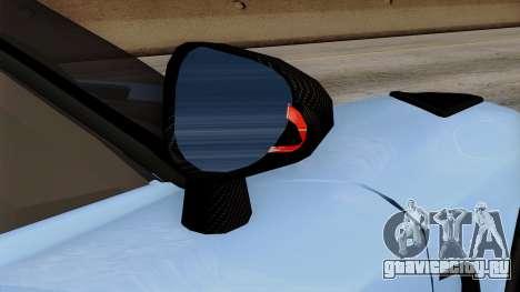 Koenigsegg Agera R 2014 Carbon Wheels для GTA San Andreas вид сверху