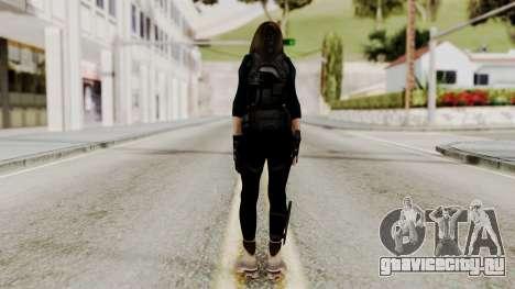 Christy Battle Suit 2 (Resident Evil) для GTA San Andreas третий скриншот