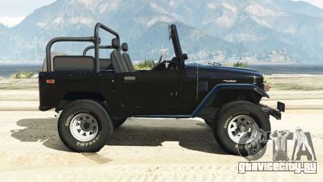 Toyota Land Cruiser (J40) 1978 [Beta 3b] для GTA 5 вид слева
